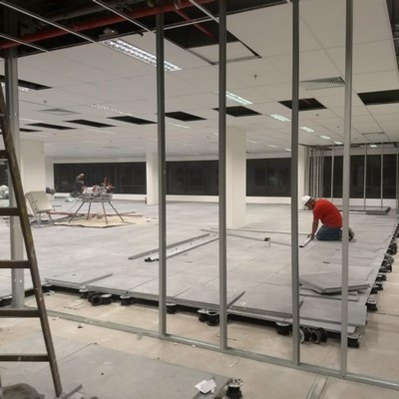 Instalação de Drywall para Umidade Itaim Paulista - Drywall para Ambiente Externo