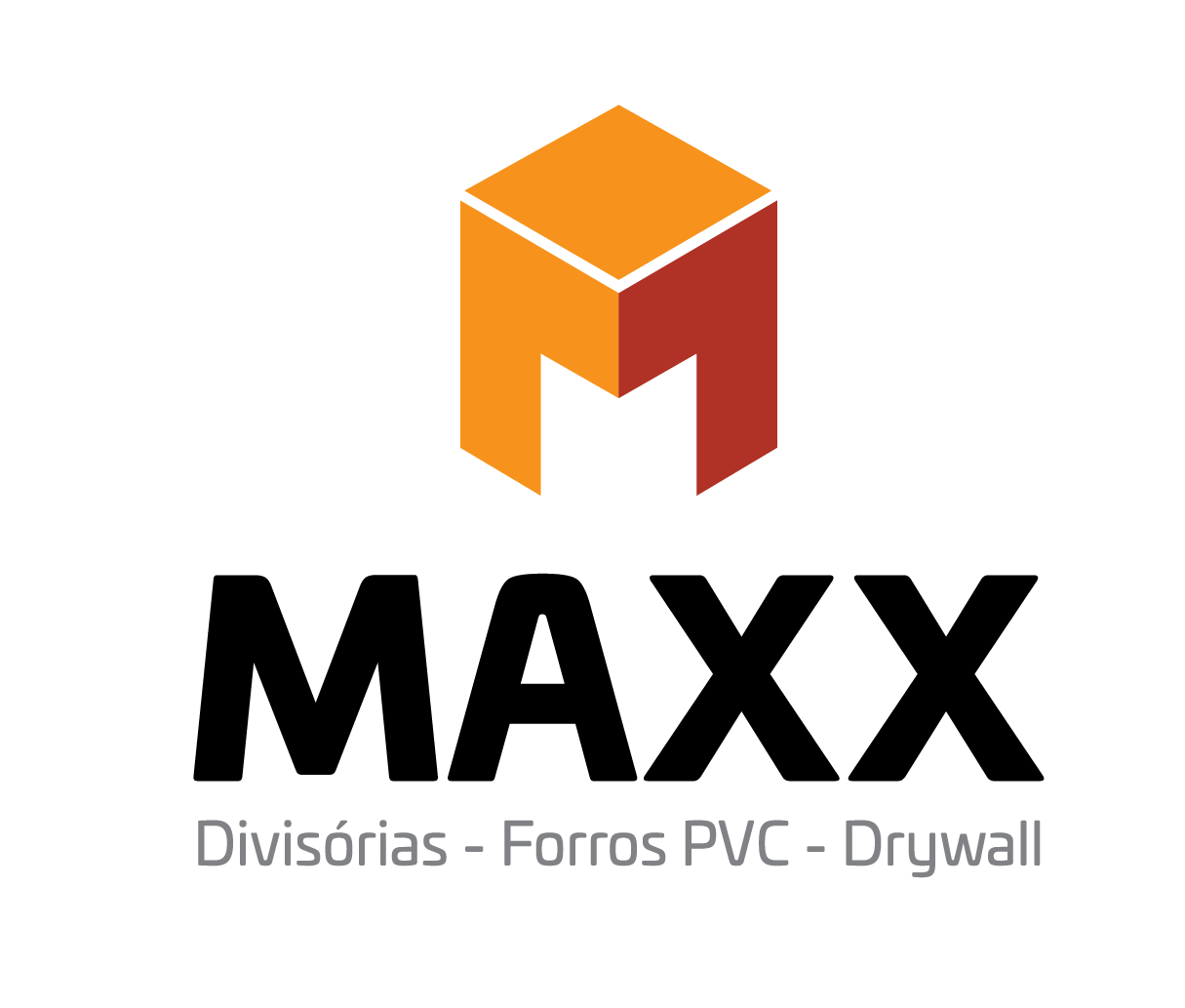 divisória bloco de gesso - Maxx Forro