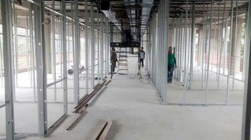 Onde Encontro Dry Uol Gesso Vila Carrão - Drywall para Ambiente Externo