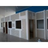 divisória de gesso acústica preço Jardim Guarapiranga