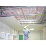 instalação de forro de gesso tabicado Guaianases