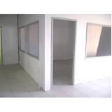 orçamento para divisória de gesso com vidro Parque do Carmo