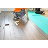 piso laminado de madeira Vila Maria