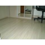 quanto custa colocação de piso laminado Anália Franco